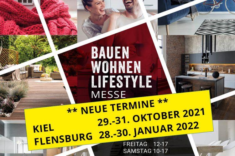 Neue Termine – Bauen Wohnen Lifestyle Messe